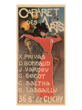 Cabaret Des Arts, c.1898 Giclee Print by Charles Lucas