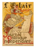 L'Eclair: Journal Politique Independent, c.1897 Giclee Print by H. Thomas