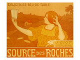 Source Des Roches, c.1899 Lmina gicle por Paul Berthon