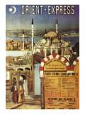 Orient-Express Giclee Print