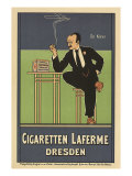Cigaretten Laferme, Dresden, c.1897 Giclee Print by Fritz Rehm