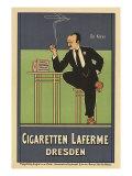 Cigaretten Laferme, Dresden, c.1897 Giclee Print by Fritz Rehm