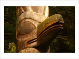 Great Northwest Eagle Spirit Totem Giclee Print by Charles Glover