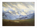 Scudding Clouds Giclee Print by Caspar David Friedrich