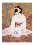 Lament at End of Spring Giclee Print by Goyo Otake