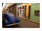 Back Street Cuba Giclee Print by Charles Glover
