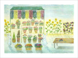 Flower Shop, Always on Your Side Giclee Print by Miyuki Hasekura