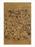 Hundred of Japanese Buddha Giclee Print by Jyakuchu Ito
