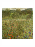 Garden Landscape Giclee Print by Gustav Klimt