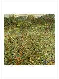 Garden Landscape Giclee Print by Gustav Klimt