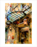 Hotel France, Aix-en-Provence, France Giclee Print by Nicolas Hugo