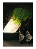 Sake and Leeks Giclee Print by Stephen Lebovits