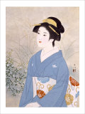 The First Day of Autumn Giclee Print by Goyo Otake