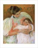 Nurse and Child Giclee Print by Mary Cassatt