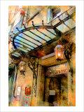 Hotel France, Aix-en-Provence, France Giclee Print by Nicolas Hugo