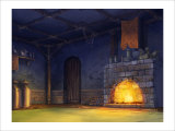 The Fire of the Fireplace Giclee Print by Kyo Nakayama