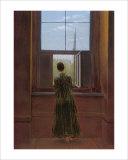 Woman at the Window Giclee Print by Caspar David Friedrich
