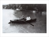 Gustav Klimt and Emilie in a Rowboat Giclee Print