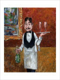 Sommelier I Giclee Print by John Howard