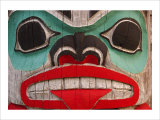 Great Northwest Bear Totem Giclee Print by Charles Glover