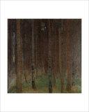 Pine Forest Giclee Print by Gustav Klimt