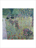 Orchard with Roses Giclee Print by Gustav Klimt