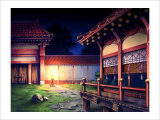 Heian Era Town of Japan Giclee Print by Kyo Nakayama