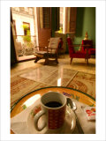 Coffee in the Afternoon Giclee Print by Charles Glover