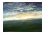 Morning Sun That Shines on the Meadow Giclee Print by Kyo Nakayama