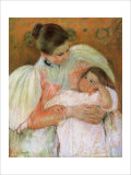 Nurse and Child Giclee Print by Mary Cassatt