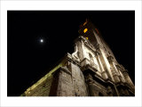 Moonlit Church Giclee Print by Charles Glover