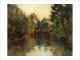 Secluded Pond Giclee Print by Gustav Klimt