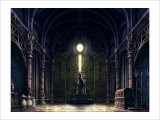 Inside the Castle of the West Giclee Print by Kyo Nakayama