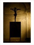 Crucifiction of Christ Church Giclee Print by Charles Glover