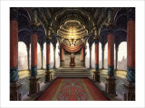 Inside the Castle of the Orient: The King Who Sits on the Throne Giclee Print by Kyo Nakayama