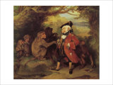 The Monkey who had seen the World Giclee Print by Edwin Henry Landseer
