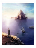 Castle on the Sea Giclee Print by Kyo Nakayama