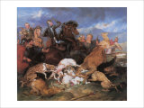 The Hunting of Chevy Chase Giclee Print by Edwin Henry Landseer