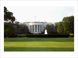 White House, Washington D.C. Giclee Print by Eric Curre