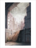 The Lonely Back Alley Giclee Print by Kyo Nakayama