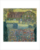 Villa on the Attersee Giclee Print by Gustav Klimt