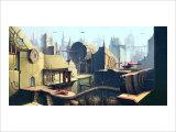 Futuristic City Giclee Print by Kyo Nakayama