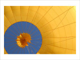 Hot Air Balloon, Up Up Away Giclee Print by Petra Wels