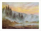 Manhã Impressão giclée por Caspar David Friedrich