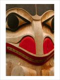 Eagle Totem, Alaska Giclee Print by Charles Glover