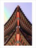 Temple, Seoul, Korea Giclee Print by Stephen Lebovits