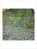 Garden Landscape with Hilltop Giclée-Druck von Gustav Klimt