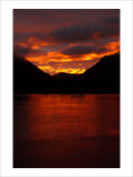 Alaskan Sunset Giclee Print by Charles Glover