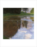 A Morning by the Pond Giclee Print by Gustav Klimt