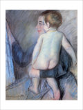 At the Window Giclee Print by Mary Cassatt